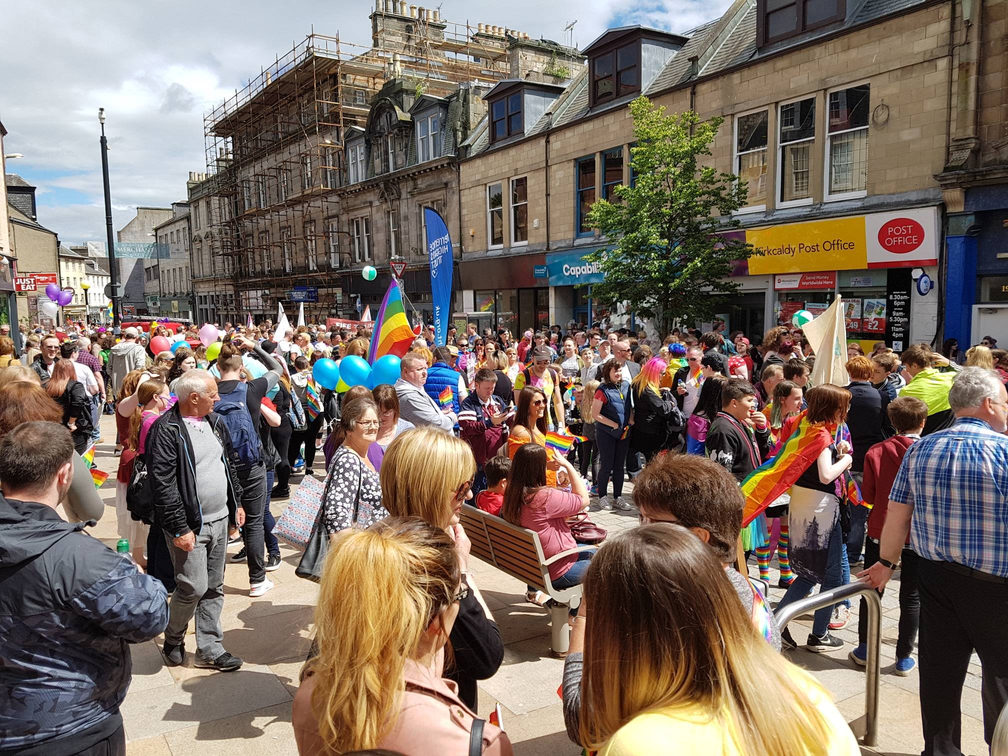 Equality News Update: Adding even more colour and noise to Fife Pride 2018