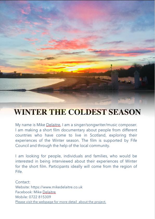 Winter: the Coldest Season